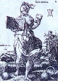 Naipe holandés del siglo XVI