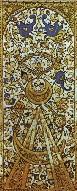 Carta de una baraja turca del siglo XV